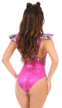 Rainbow Glitter Harness
