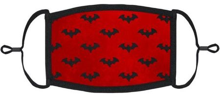 Red Bats Fabric Face Mask