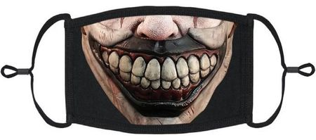 Scary Clown Fabric Face Mask