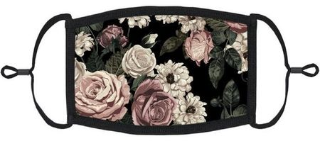 Shabby Chic Floral Fabric Face Mask