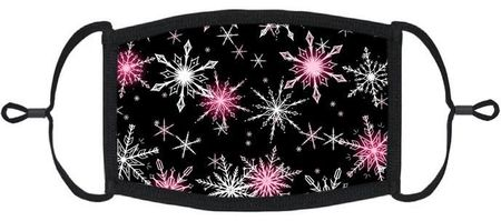 Snowflakes Fabric Face Mask