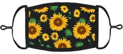 Sunflowers Fabric Face Mask