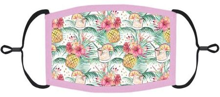 Tropical Fabric Face Mask