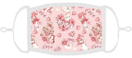 Valentine Fabric Face Mask