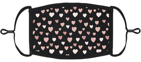 Hearts Fabric Face Mask (PRE ORDER Ships 3/10)