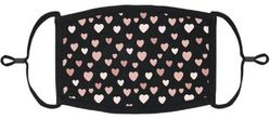 Valentine Hearts Fabric Face Mask
