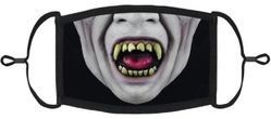 Vampire Fabric Face Mask