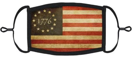 Vintage Flag Fabric Face Mask