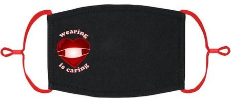 """Wearing is Caring"" Fabric Face Mask"