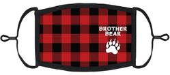 """YOUTH SIZE - """"Brother Bear"""" Fabric Face Mask"""