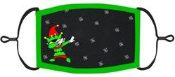 YOUTH SIZE - Dabbing Elf Fabric Face Mask