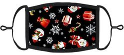 YOUTH SIZE - Holiday Fabric Face Mask