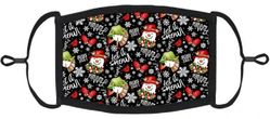 """YOUTH SIZE - """"Let it Snow"""" Fabric Face Mask"""