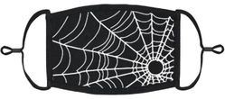 YOUTH SIZE - Spiderweb Fabric Face Mask
