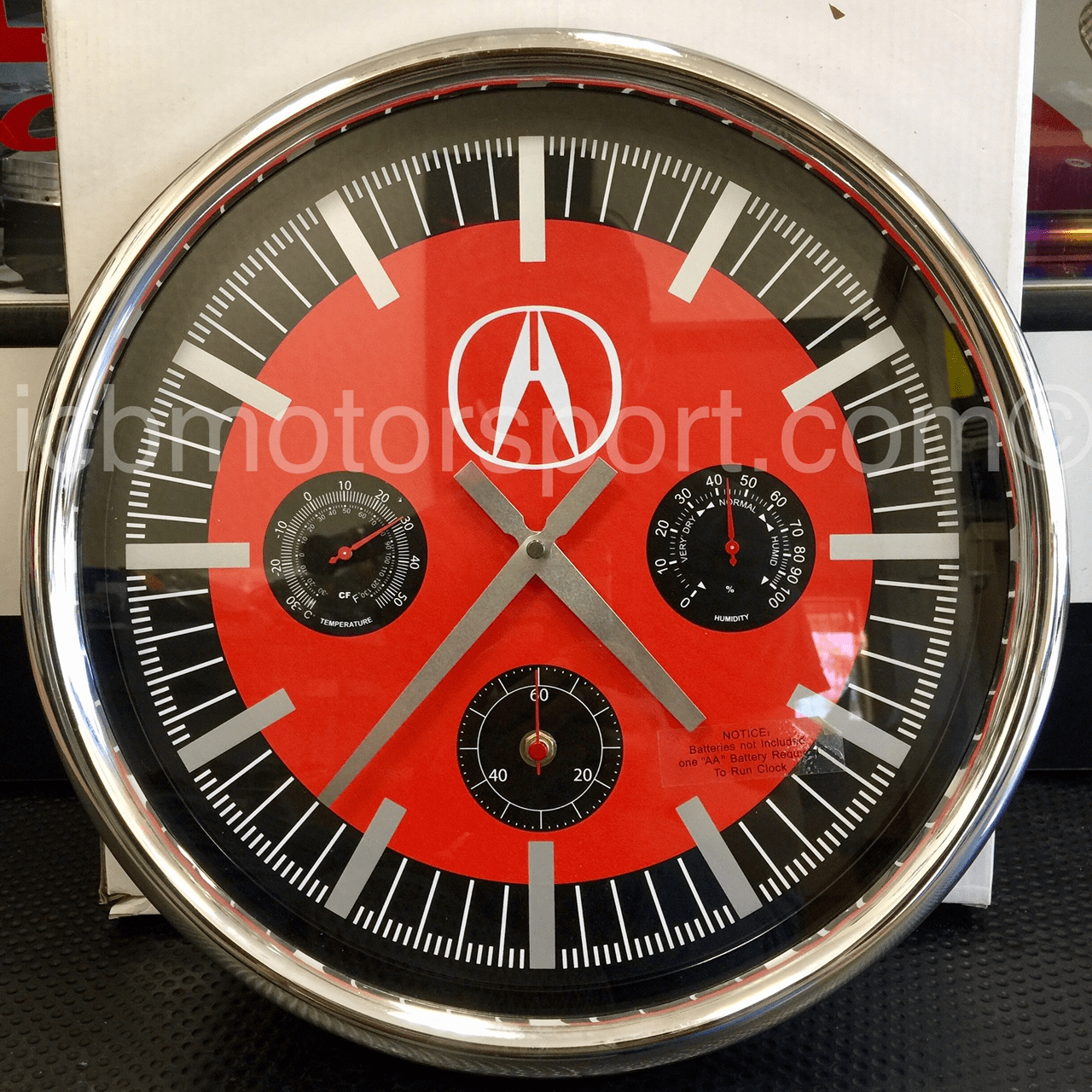 """Acura 15"""" Garage/Wall Clock Official Licensed Product"""