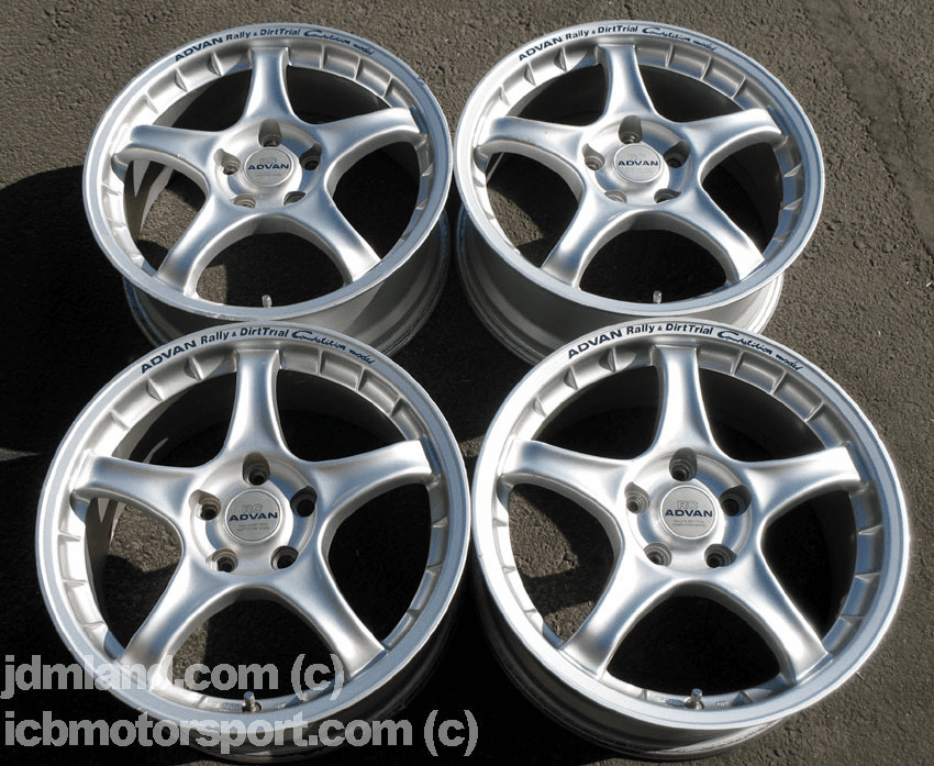 "Advan RC Silver 17"" (5X114.3) - Perfect for DC2/EP3/DC5"