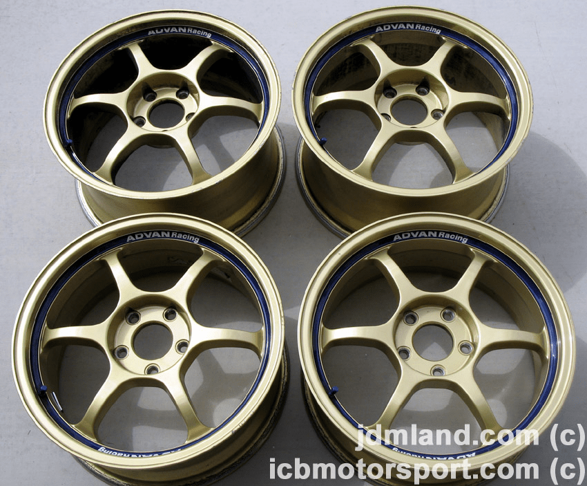 "Advan RG Gen 1 Gold 17"" 5X114.3 S2000 AP1/AP2 - SOLD"