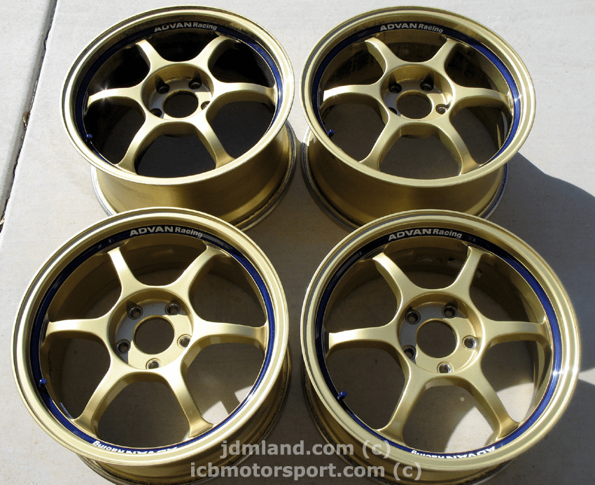 "Advan RG Gen 1 Gold 17"" 5X114.3 S2000 - SOLD!"