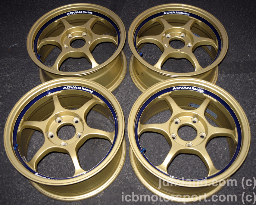 "Advan RG Gold 16"" 5X114.3 Mint - SOLD!"