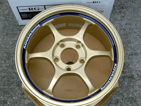 "Advan RG Gold 16"" 5X114.3 NEW - SOLD!"