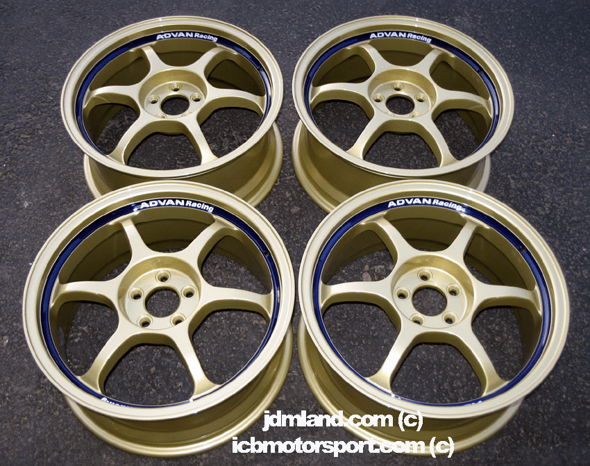 "Advan RG Gold 17"" 5X100  Rare New - SOLD!"