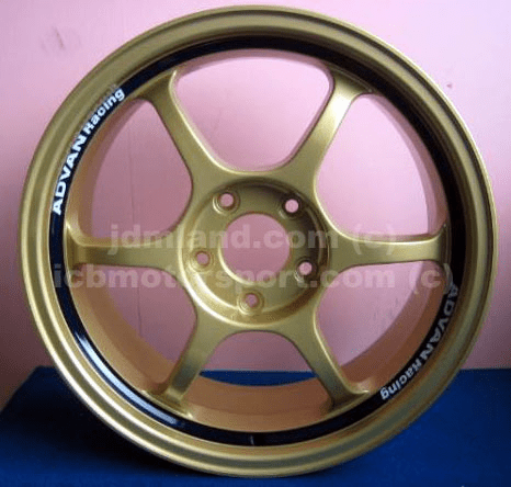 "Advan RG Gold 17"" 5X114.3 +48 - SOLD!"