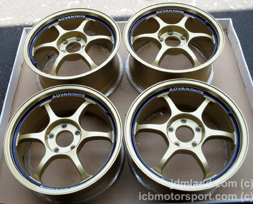 "Advan RG Gold 17"" 5X114.3 for S2000 Mint - SOLD!"