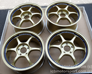 """Advan RG Gold 17"""" 5X114.3 for S2000 Mint - SOLD!"""