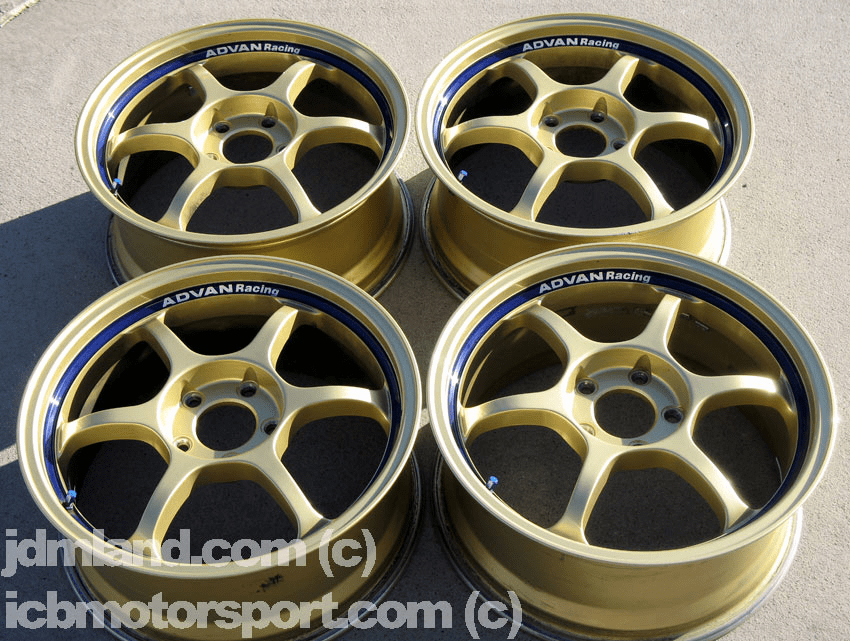 "Advan RG Gold 17"" 5X114.3 Rare Integra DC2 DC5 - SOLD!"