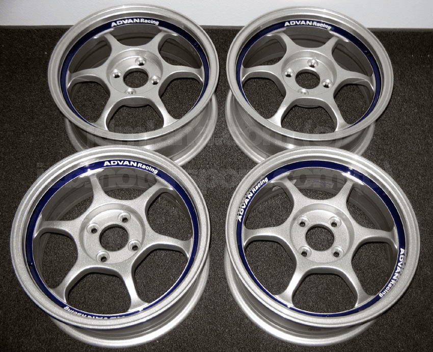 "Advan RG Silver 15"" 4X100  Rare NEW - SOLD"