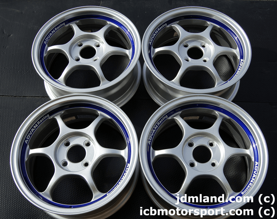 ADVAN RG (SILVER) 15x6.5 +42 4X100 BRAND NEW Sold!