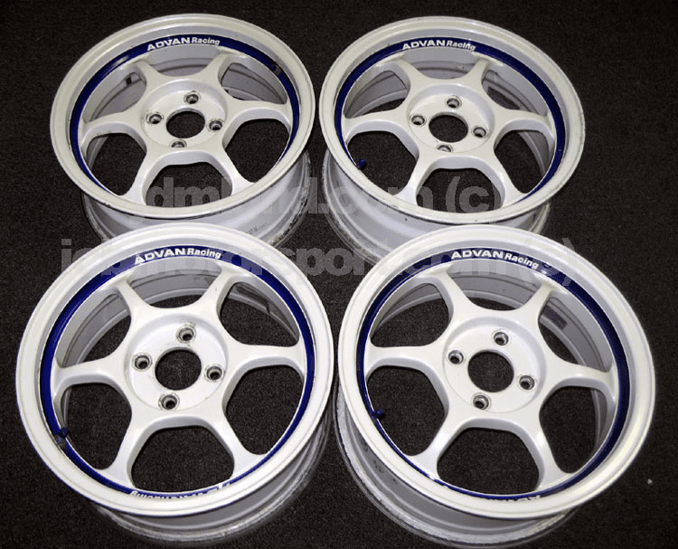 "Advan RG White 15"" 4X100 - SOLD!"