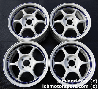ADVAN RG (WHITE) 15x6.5 +42 4X100 - SOLD