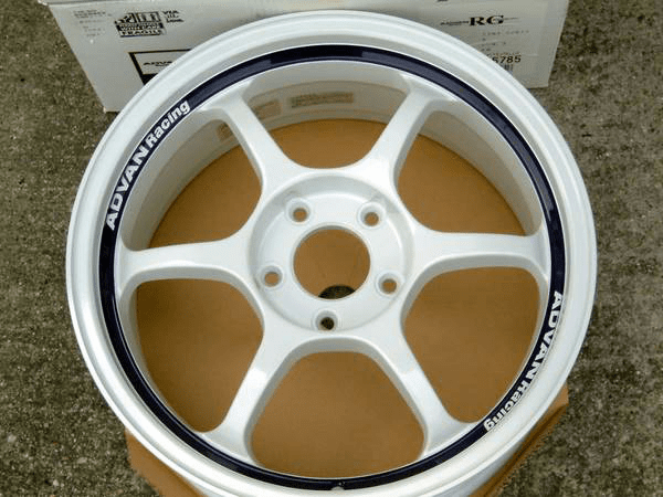 "Advan RG White 17"" 5X114.3 NEW - SOLD!"