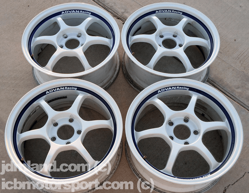 "Advan RG White 17"" (5X114.3) -  SOLD!"
