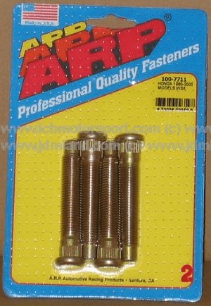 ARP Wheel Stud Kit Honda 80-00 (4 Piece Pack)