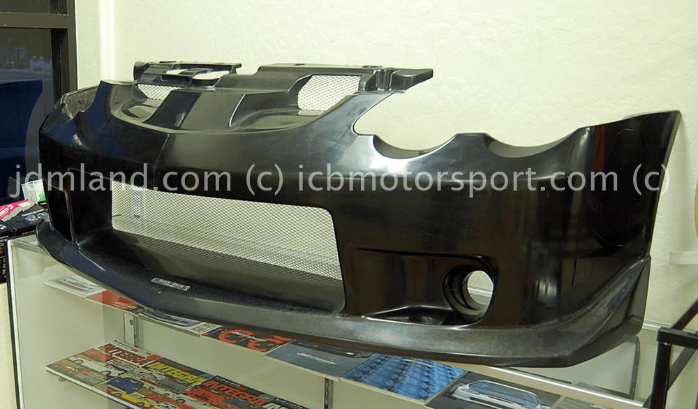 Backyard Special BYS DC5 RSX Front Bumper 02-04 NO LONGER MADE!
