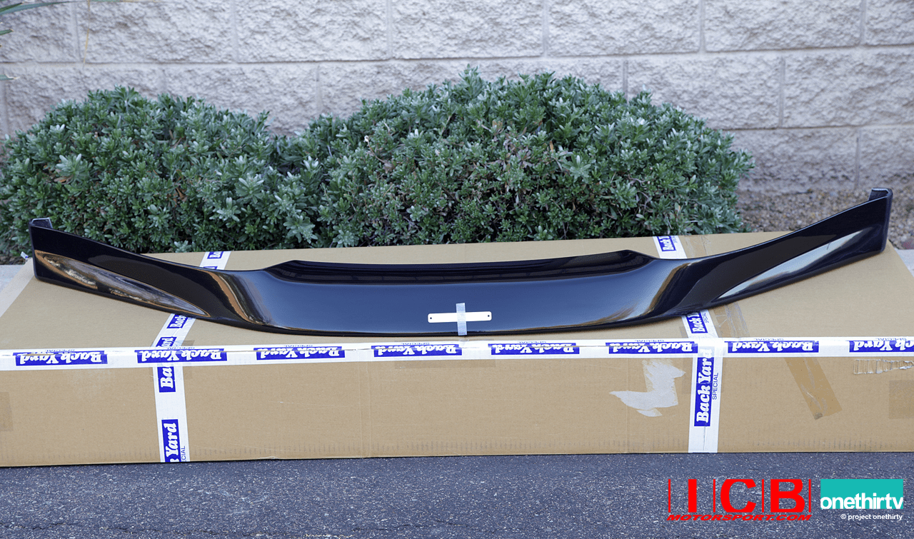 Backyard Special BYS S2000 AP1 Type II 15mm Front Lip Spoiler