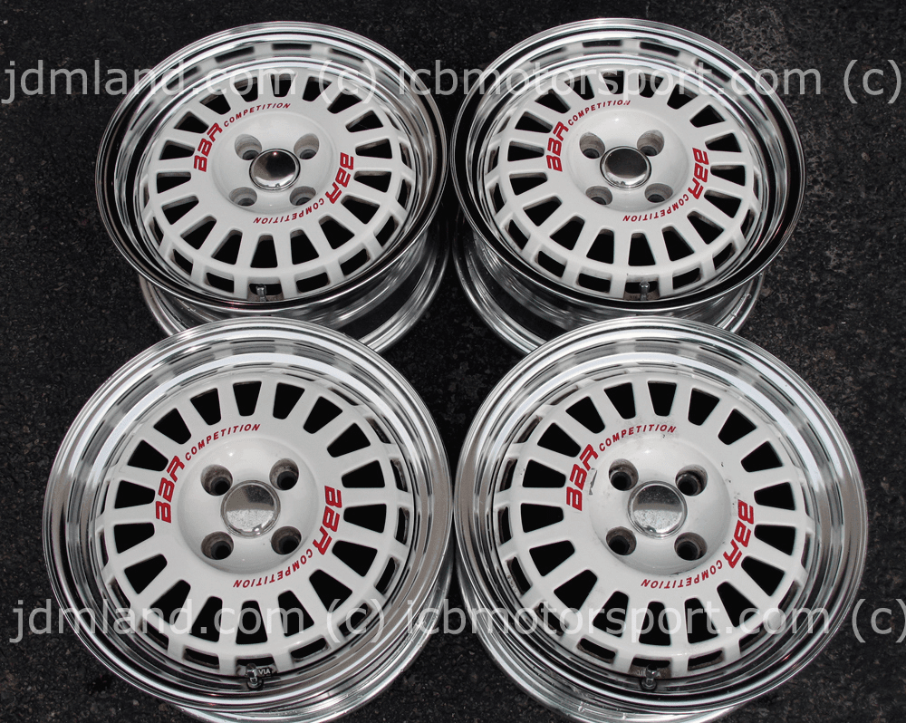 BBR Competition by Enkei 15x6.5 +32 4X100 Sold