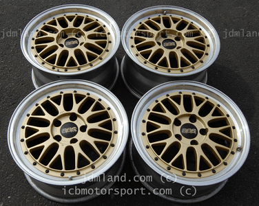 BBS LM Forged Gold 5X114.3 17X8 +45 17X9 +42 Honda S2000 NSX SOLD