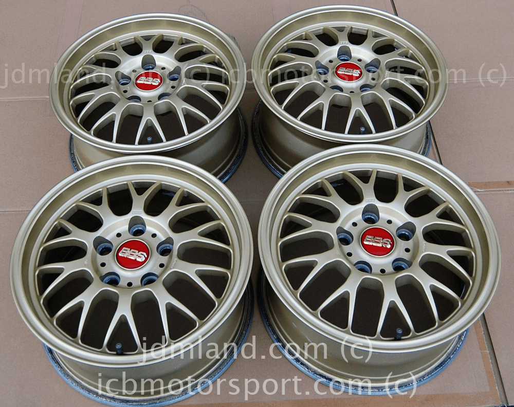 BBS RG-F Forged Gold 15X7 5X114.3 +42 Offset - Sold
