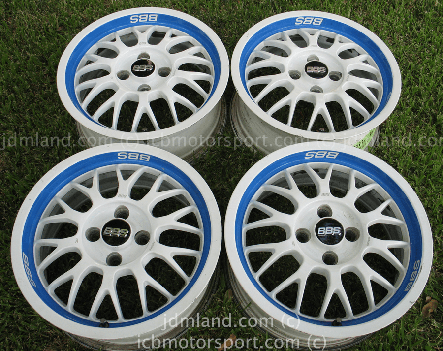 BBS RG294 15x6.5 +38 offset 4X100 Rare - SOLD