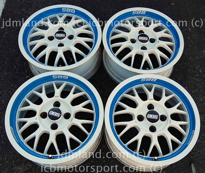 BBS RG294 15x6.5 +38 offset 4X100 Rare SOLD!