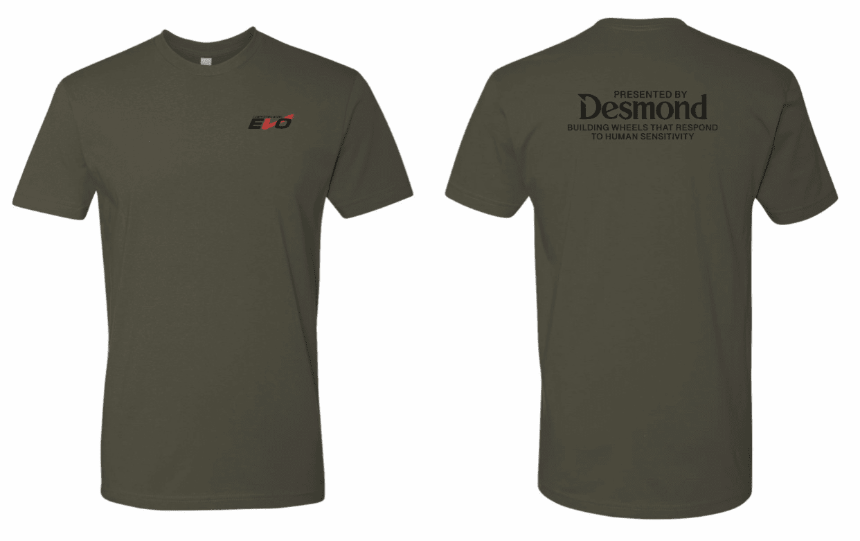 Desmond EVO T-Shirt Military Green Free Shipping