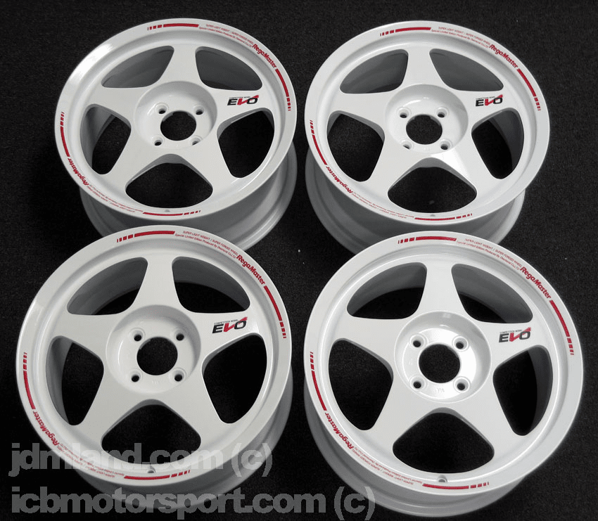 "Desmond Regamaster EVO White 16"" 5X114.3 NEW"