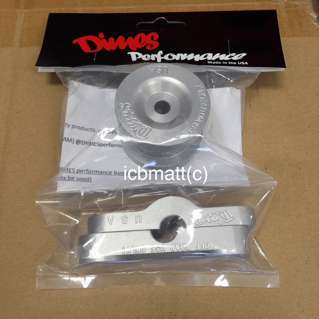 Dimes Performance B-Series Billet Aluminum Shift Linkage Stabilizer Bushings
