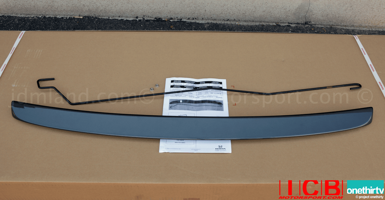 EDM Honda Ducktail Spoiler 04-08 JDM CL7 Accord R USDM Aucra CL9 TSX