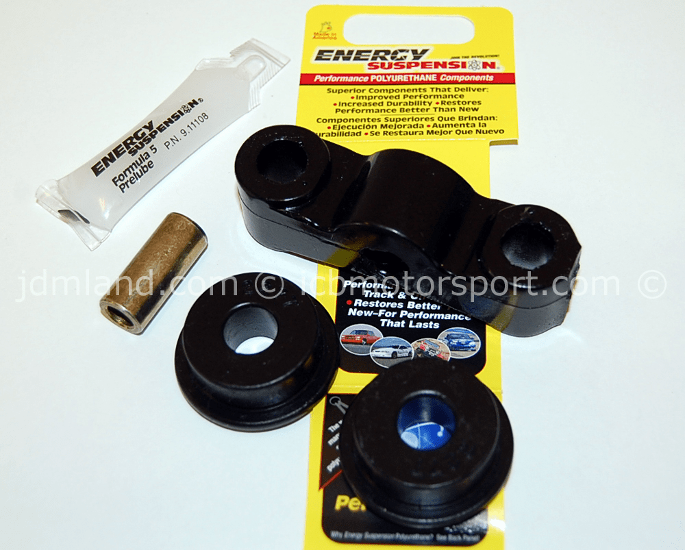 ENERGY M/T SHIFTER BUSHING Red Black Civic/CRX 88-00 Del Sol 93-97 w/ D Series Engine