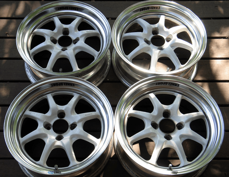 ENKEI J-SPEED 15x6.5 +28 4X100 - SOLD!