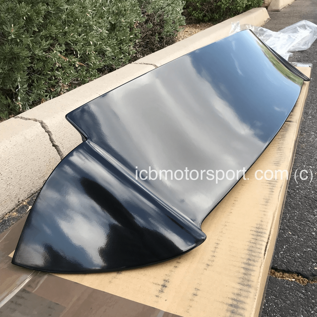 Exceed / Mode Parfume Honda Civic EG6 92-95 Hatchback Roof Spoiler